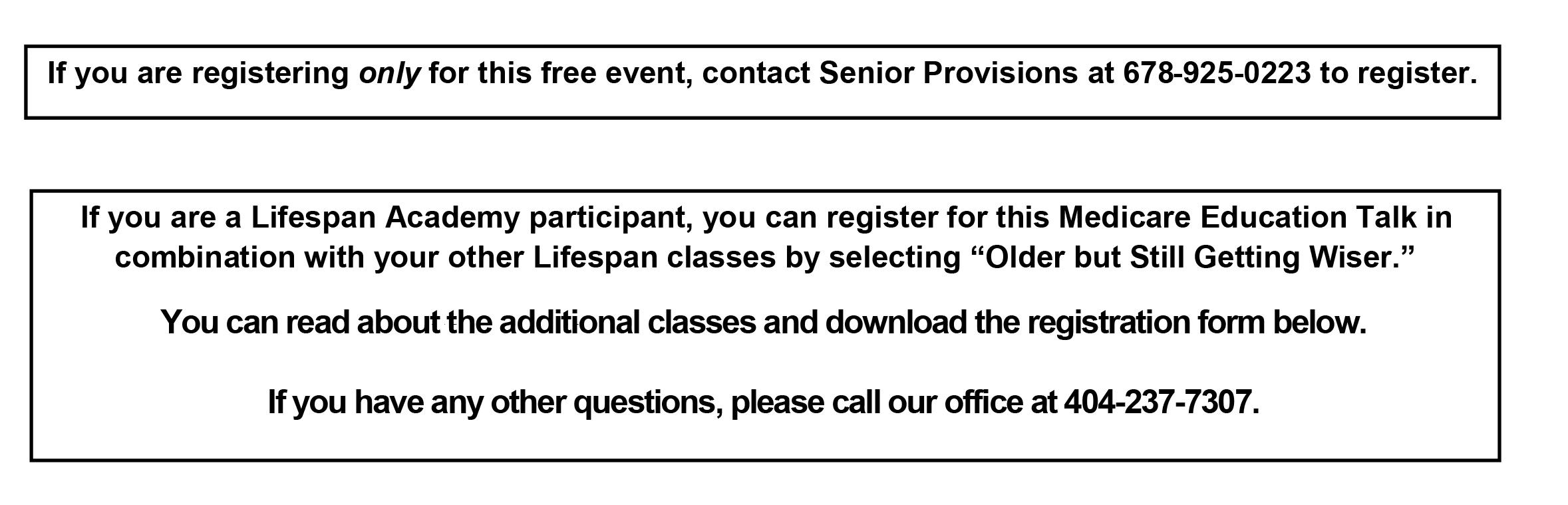 corrected registration information