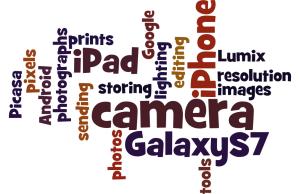 digital photography wordle