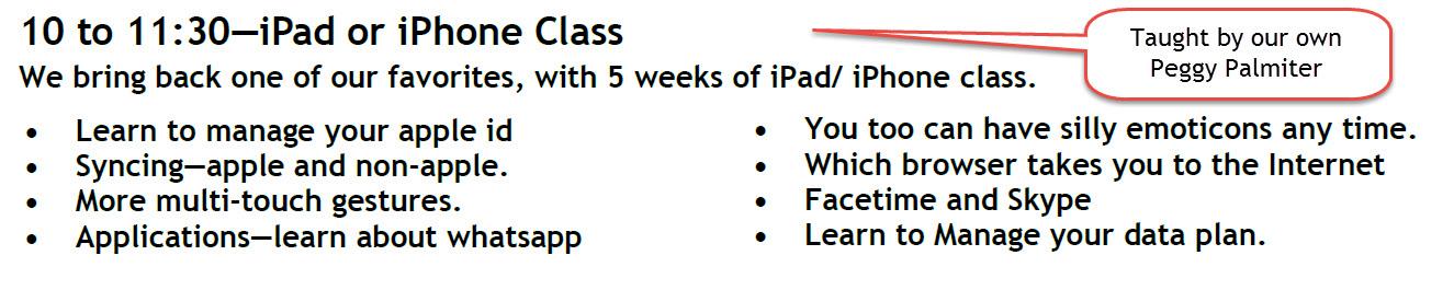 iPad and iPhone class image